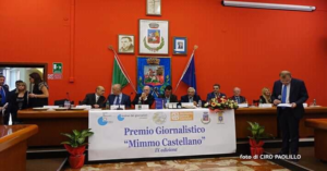 """Grande successo: per IX edizione del Premio Giornalistico """"Mimmo  Castellano"""""""