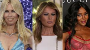 2020: da Naomi a Claudia Schiffer, top model top 50
