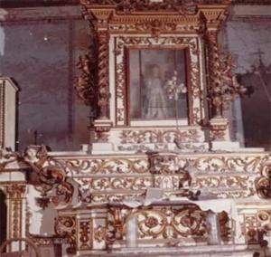 Polla, rubato in chiesa prezioso altare del '700