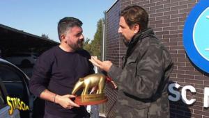 """Tapiro a Gattuso: """"dovremmo andare da San Gennaro"""""""