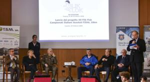"""È stata presentata ieri, presso la caserma """"Ferraro Orsi"""", la XX edizione della Flik Flok"""