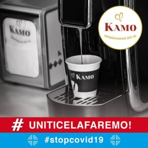 "Caffè Kamo: Risponde All'emergenza ""Coronavirus"""
