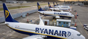 Coronavirus, Ryanair ferma tutti i voli da fine marzo