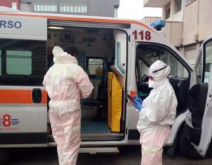 """Coronavirus: Verdoliva, poche tute ma no stop alle """"ambulanze"""""""