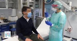 Coronavirus: i tamponi rapidi, prima i sanitari e le Rsa