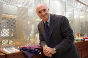 Cravatta con logo istituzionale Citta' metropolitana di Napoli