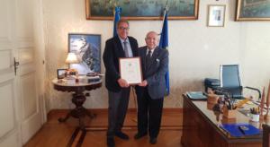 Il Prefetto Marco Valentini aderisce  al Club dei Tifosi della Legalità promosso dall'ACI Napoli