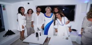 Party Total White per l'onomastico di Lorenzo Crea: che festa al Blanco!-fotogallery