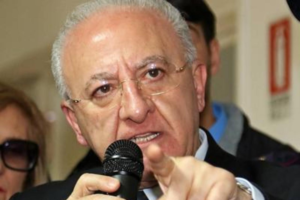 "Regione, De Luca: sull`inchiesta Covid ""c`è una speculazione politica"""