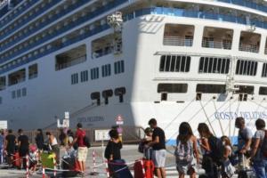 Costa Deliziosa, imbarcati i 350 passeggeri