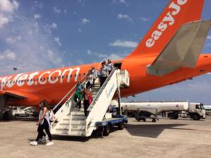 EasyJet: aumenta i collegamenti verso il Sud Italia
