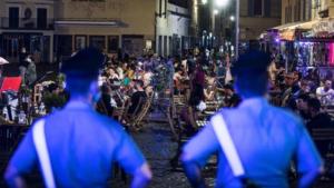 """Movida: coprifuoco blindato, prove di """"lockdown"""""""