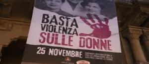 Domani, Giornata internazionale della violenza contro le donne