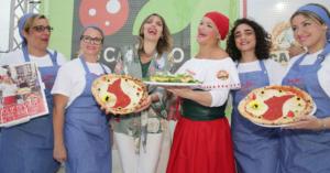 Pizza margherita e caffe' simboli contro la violenza sulle donne