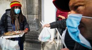 Pizze gratis per i bisognosi, in 500 alla Caritas