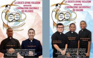 La famiglia vocazionista in festa: Nuovi sacerdoti e diaconi Vocazionisti