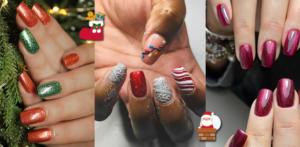 Dalle unghie natalizie di Fedez alle manicure rosse e scintillanti