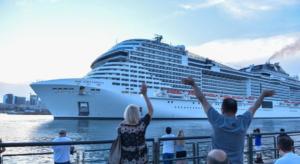 Crociere: salpa Msc Grandiosa e segna la ripartenza nel 2021