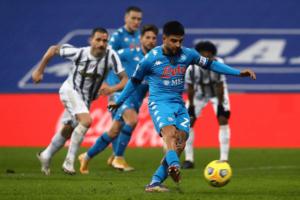 """Supercoppa: Gattuso,se la prende con il campo """"lacrime di Insigne"""""""