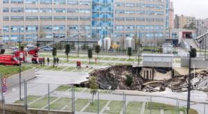 """Ospedale del Mare: al gelo dopo la voragine, """"la protesta dei pazienti"""""""