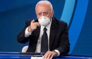 """Campania: allarme contagi tra i ragazzi, De Luca troppa rilassatezza, partita la terza ondata, """"state a casa"""""""