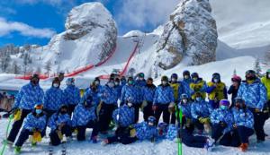 Cortina 2021, sono 33 ragazzi campani curano le piste del Mondiale