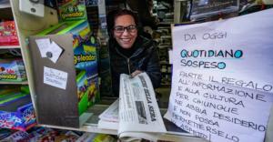 """Napoli: il giornale sospeso è sempre più diffuso, """"prenda pure. è già pagato"""""""