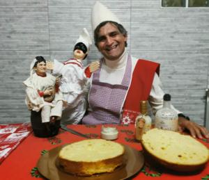 Da Napoli Pulcinella sfida di nuovo la Pandemia a Pasqua con casatielli , pastiere e tortano