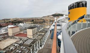 Costa Crociere torna nel porto di Napoli con Costa Smeralda