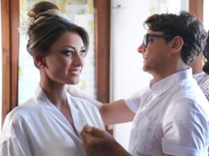Ciro Florio, il mago del make-up e dell'hair stylist per sposa