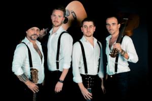 """Il quartetto triestino """"40 fingers"""" nel primo concerto mondiale in live streaming al Rossetti"""