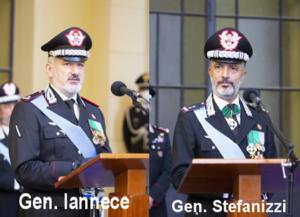 """Avvicendamento al comando della Legione Carabinieri """"Campania"""""""