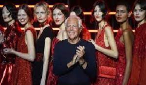 Giorgio Armani: la mia 'one night only' si farà a Dubai il 26 ottobre