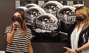 """""""The Balls"""" di Federica Gioffredi vince il secondo premio del concorso internazionale Coiné per l'arte al Vernice Art Fair di Forlì"""